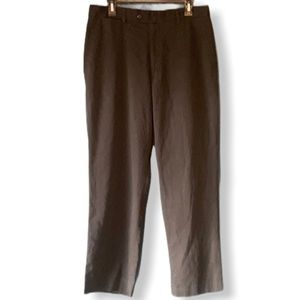 Louis Raphael Men's Black Dress Pants